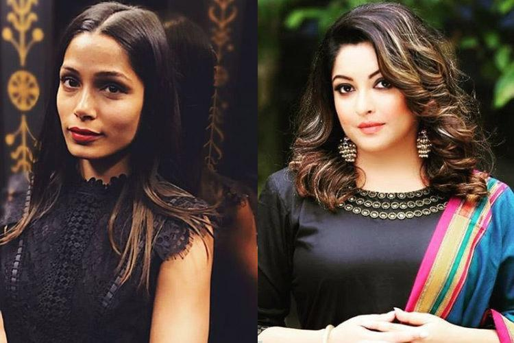 India stand up speak up Actor Freida Pinto comes out in support of Tanushree