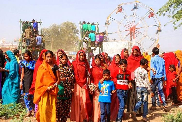 Spring is colourful boisterous and lovely at this harvest festival in Madhya Pradesh