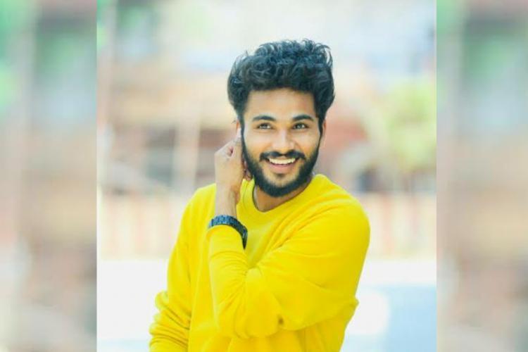 TikTok star Funbucket Bhargav in a yellow shirt