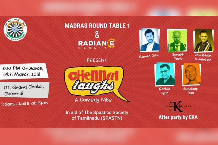 ROFL for a cause Chennai Stand-up show to raise funds for Spastics Society soon