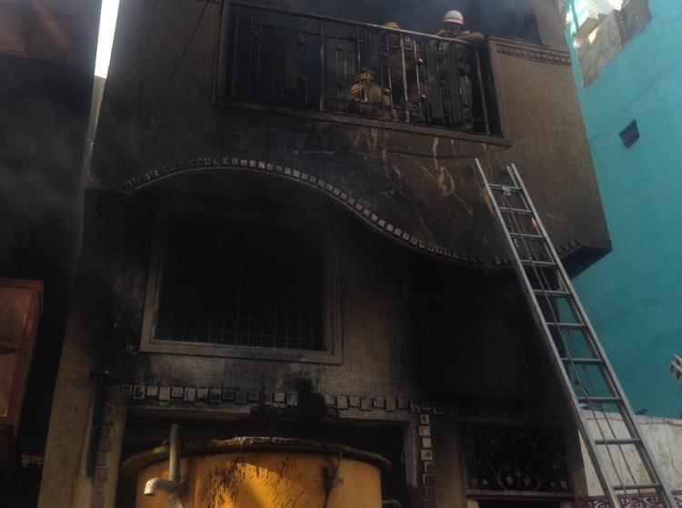 Massive blaze at furniture-making firm on Mysuru Road two dead
