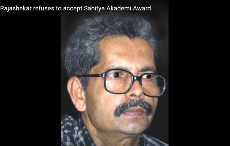Kalburgi murder unsolved RSS growing Renowned Kannada writer rejects Sahitya Akademi Award