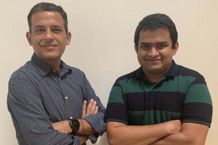 G.O.A.T. cofounders Rishi Vasudev and Rameswar Misra