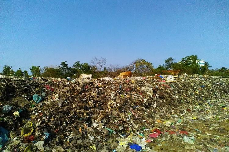 20-year nightmare Despite protests Chennai residents struggle with lake turned garbage dump