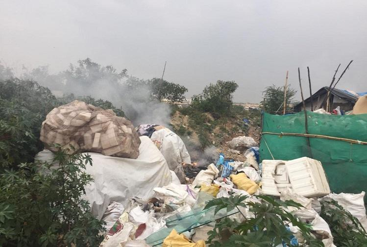 Residents suffer as garbage burning chokes clean air supply in Bengalurus Whitefield