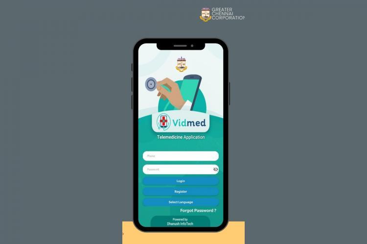 Chennai Telemedicine app screenshot