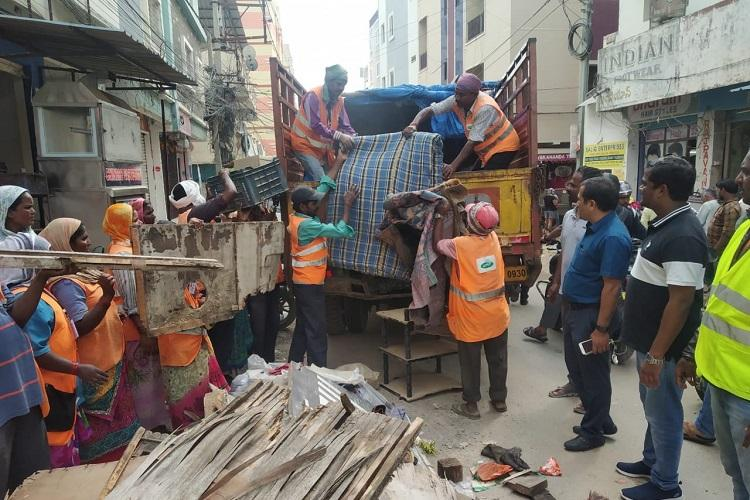 To promote proper disposal of scrap Hyderabad civic body begins 10-day recyclothon