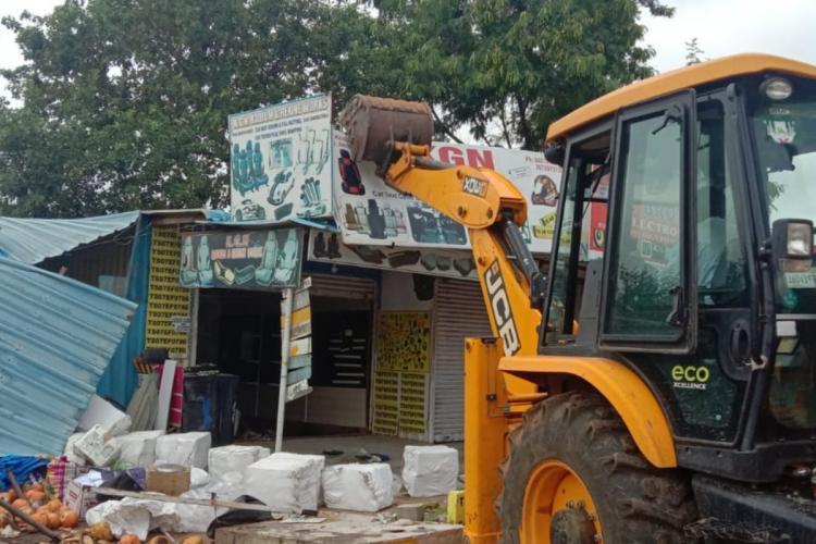 GHMC demolition