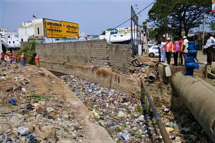 Plastic chokes nalas in Hyderabad contributes to 40pc waste in drain GHMC