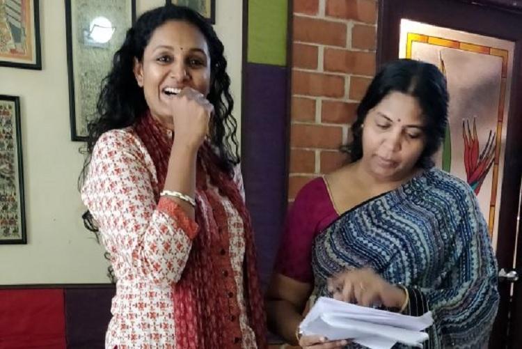 Oru Sila Pala Nimidam Writer Geetha Kailasams first play is on a womans struggle