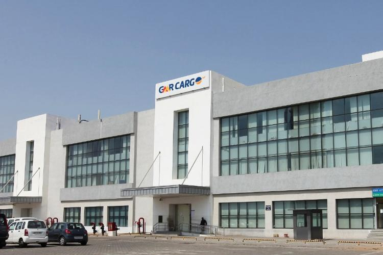 GMR groups building that handles cargo operations