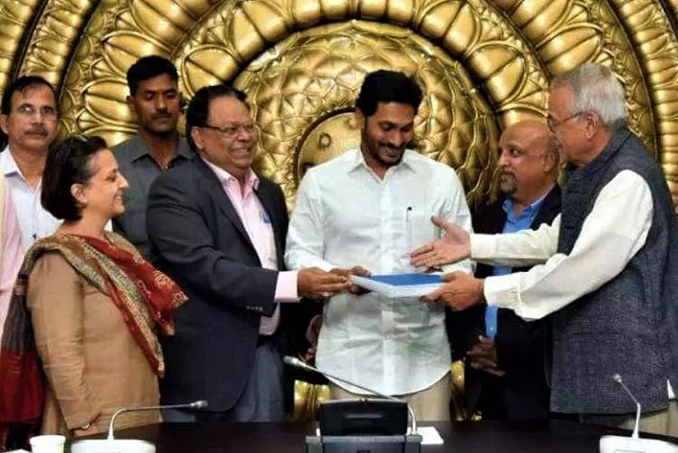 Andhra capital row No interference by govt in panel report says GN Rao in rejoinder