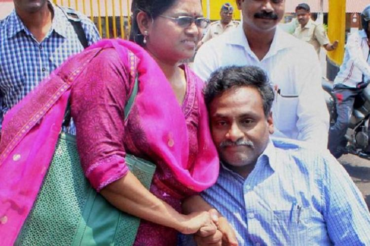 Impossible for me to survive this winter Jailed prof GN Saibaba writes to wife