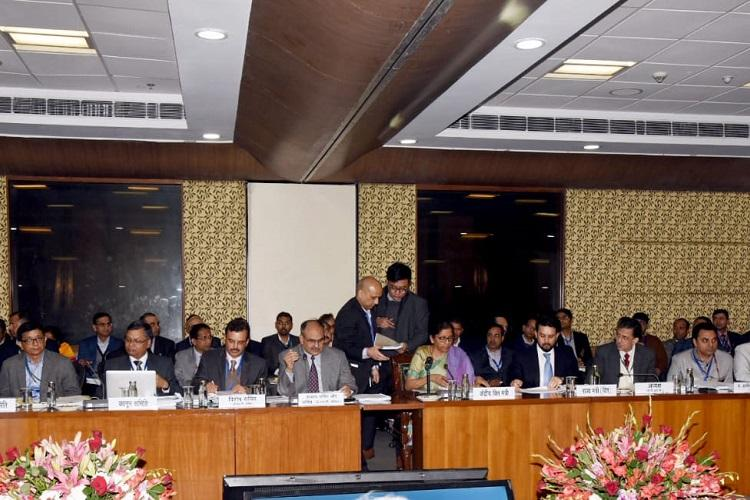 GST council meet No rate hike council votes for uniform lottery rate