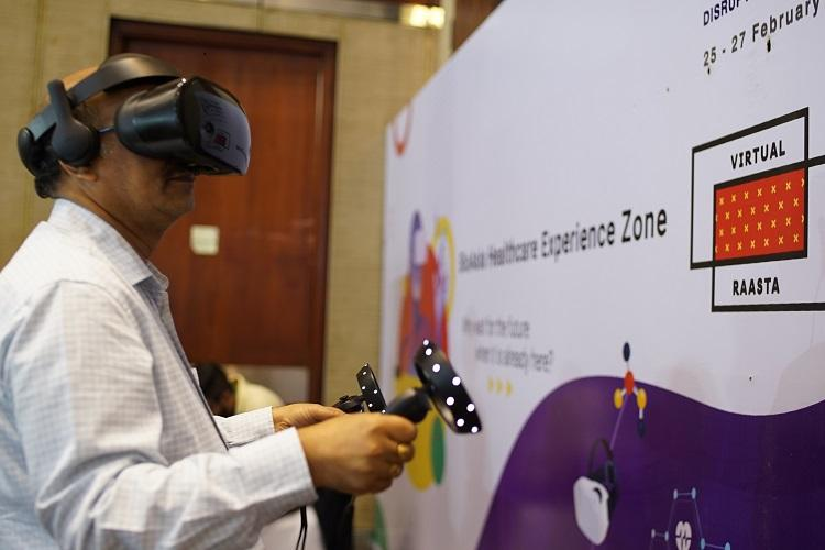 Hyd startup Virtual Raasta showcases VR-based solutions on future of healthcare