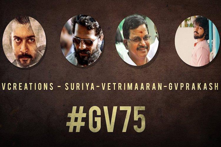 GV Prakash roped in for Suriya-Vetrimaarans next
