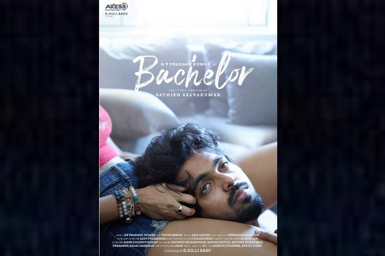 First-look out from GV Prakash Kumars next titled Bachelor