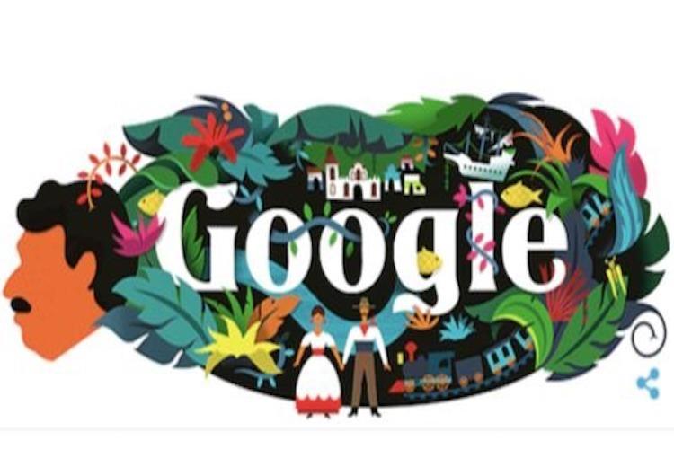 Google Doodle celebrates author Gabriel Garcia Marquez