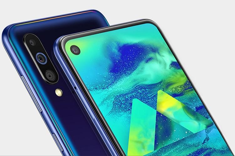 Samsung Galaxy M40 with Infinity-O display, triple cameras launched in India for Rs 19,990