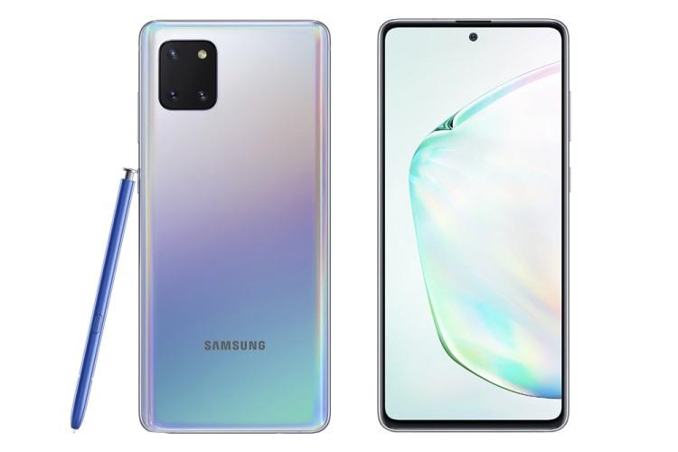 Samsung unveils Galaxy S10 Lite and Note 10 Lite with Infinity-O display