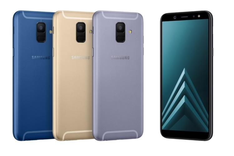 Samsung officially reveals Galaxy A6 & A6 Plus