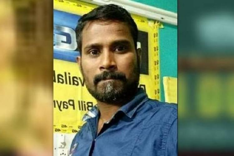 Vijayakumar who took away his life in Puducherry