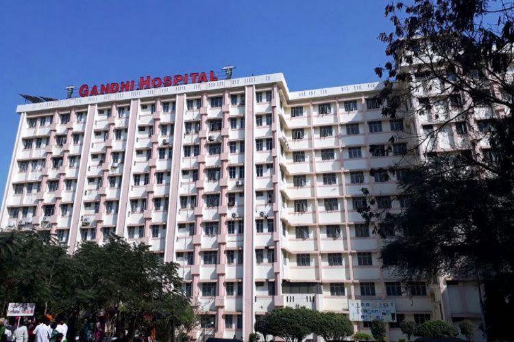 The Gandhi Hospital in Hyderabad