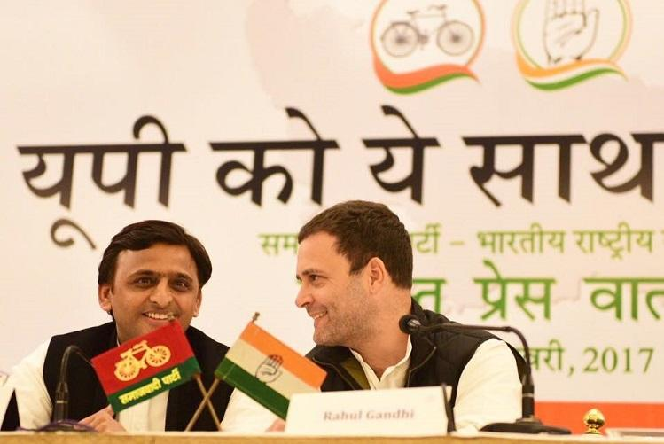 Akhilesh Rahul pitch for SP-Congress alliance