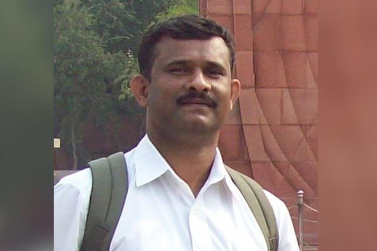 Gangadariah died while on duty at BIEC