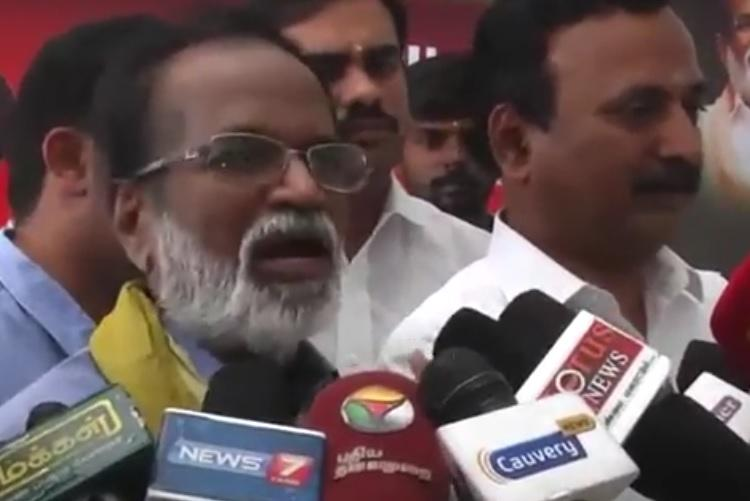 Angry Gangai Amaran lashes out at Sasikala says victims like him have to fight her