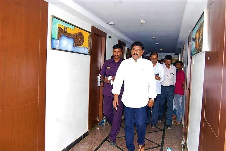 Andhra court issues arrest warrant against minister Ganta for 2009 voter bribery case