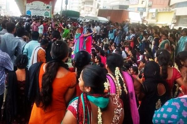 Monday blues Why thousands of garment factory workers blocked a major Bengaluru road