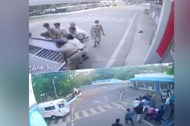Two people die as gate collapses in ICF