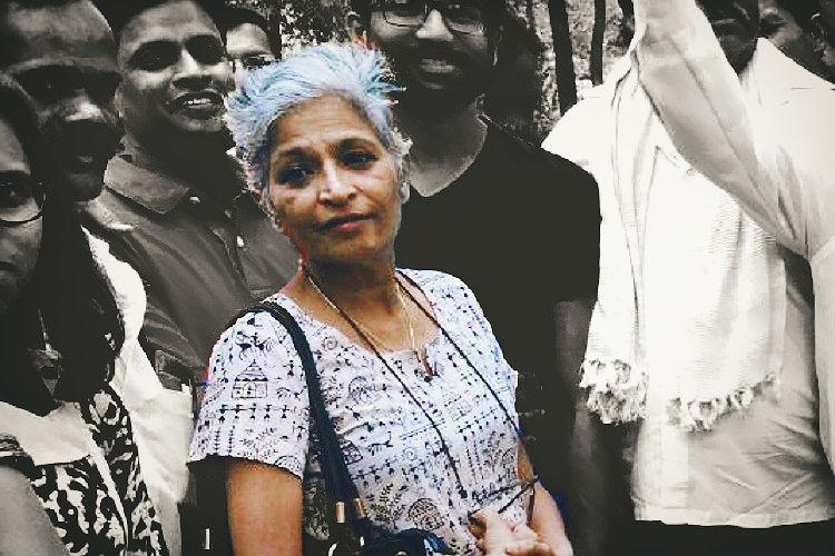 Gauri Lankesh killing Women journos vow to continue fight call for justice