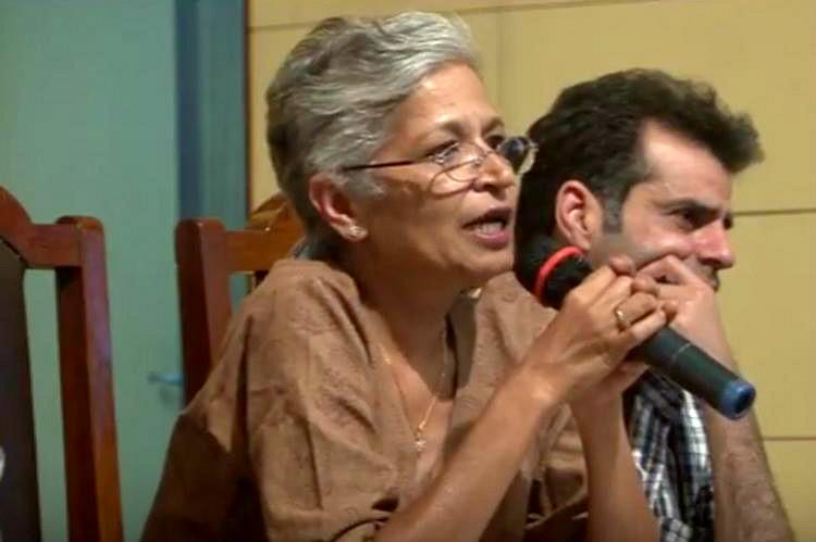 Video When Gauri Lankesh spoke against communalism lamented about death threats