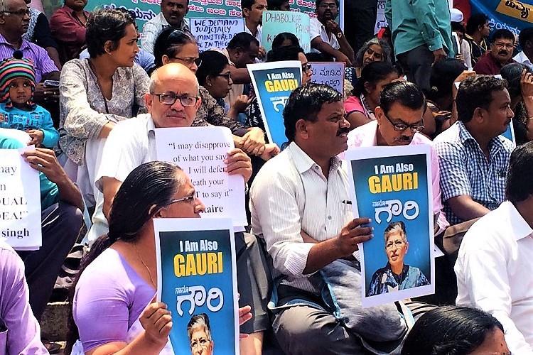 Gauri Lankesh murder Karnataka Home Minister and SIT differ on progress made on probe
