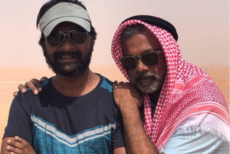 The scorching heat didnt deter Vikram Gautham and others