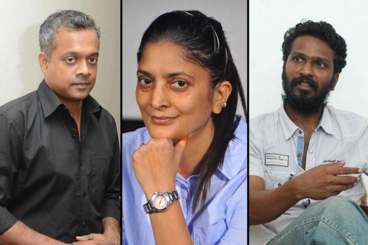 Gautham Menon Sudha Kongara and Vetrimaaran collage