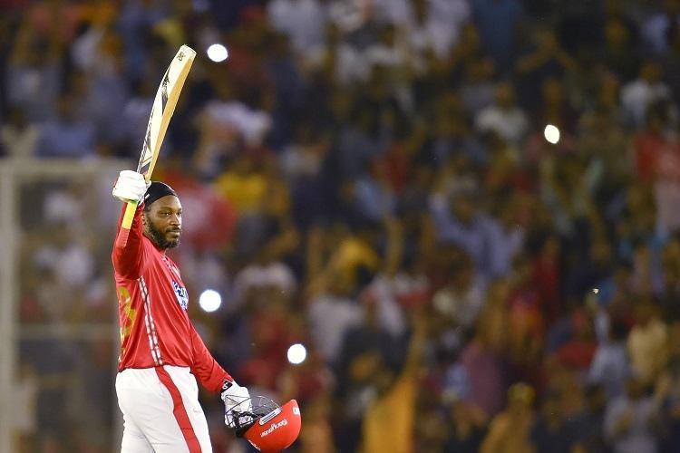 Chris Gayles explosive 11 sixes helps Kings XI Punjab cruise past Sunrisers Hyderabad