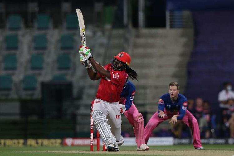 Gayle in action vs RR