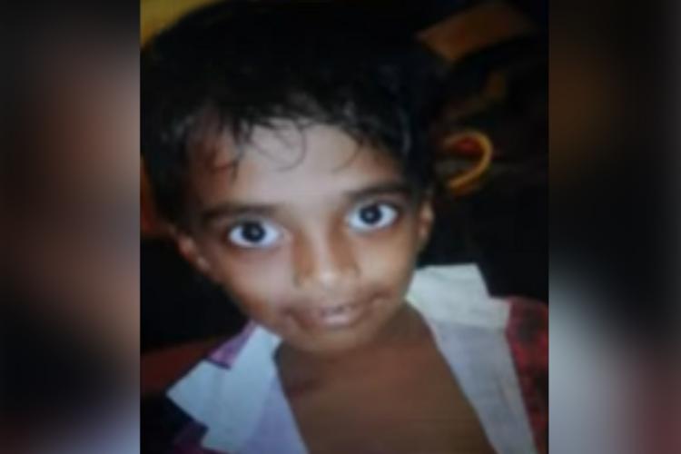 6-year-old Vishnu Dev