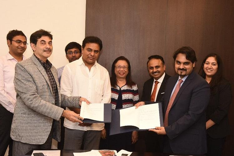 Telangana signs MoU with Singapore-based engineering firm to develop Genome Valley 20
