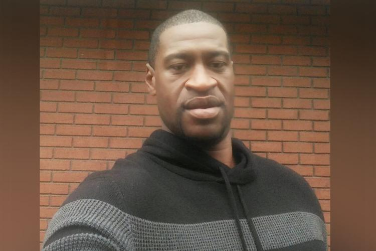 Unarmed black man George Floyd was killed by a police officer in the United States