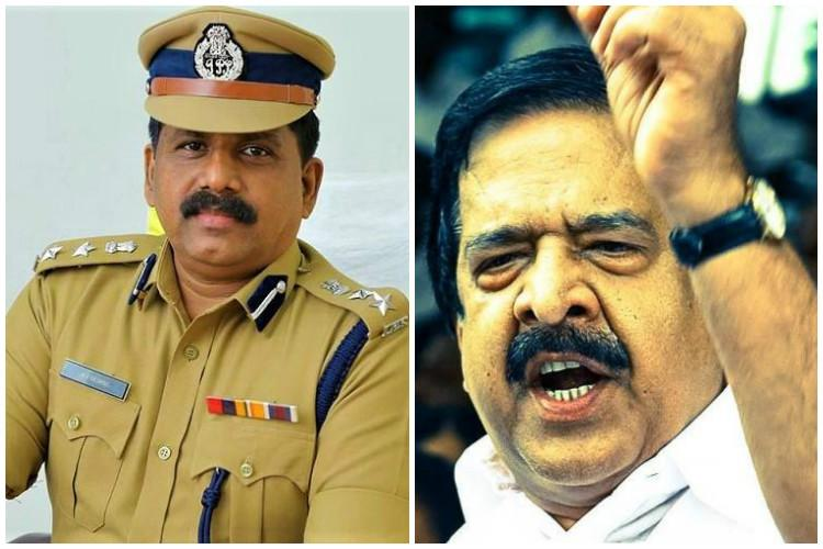 Sreejith custodial death AV George should be charged with murder demands Chennithala