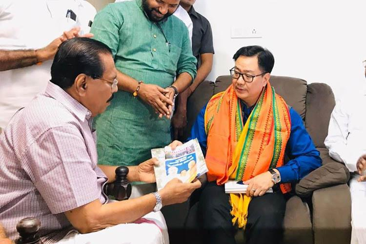 BJP minister visits Kerala author for support on CAA the reply wasnt what he expected