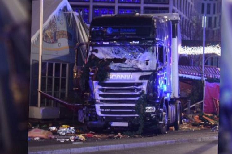 Germany on edge after truck plows into Berlin Christmas market killing 12