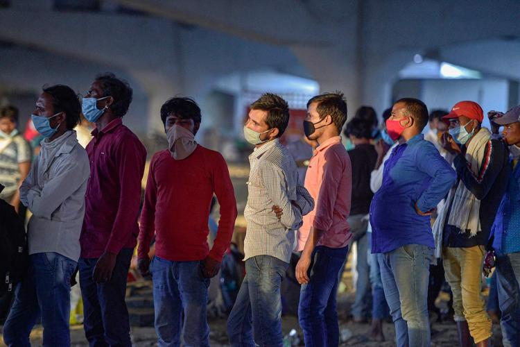 SMS yes before 6 pm for Shramik train Govt SMS panics migrant workers in Bengaluru
