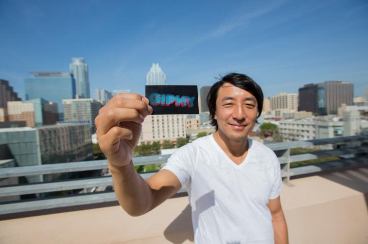 Alex Chung is the founder of Giphy which has been acquired by Facebook