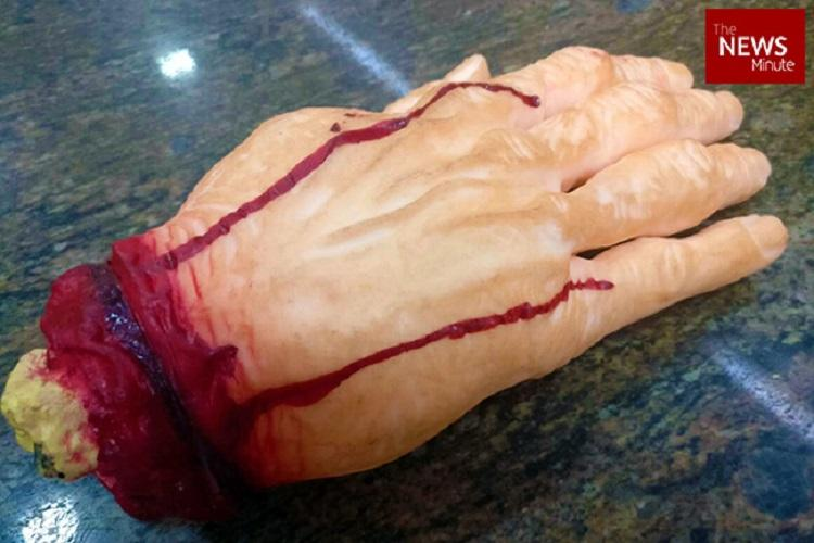 Severed wrists legs or blood Ask and you will get at this Chennai shop that Kollywood loves