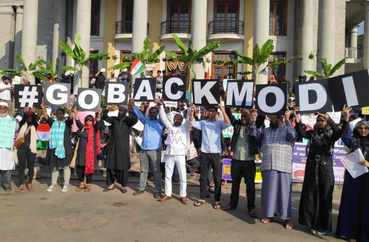 After Kerala and Tamil Nadu Go Back Modi accompanies PM on 2-day Ktaka visit